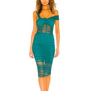 House of Harlow Revolve Nola Dress in Aquamarine